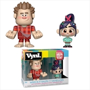 Wreck-It Ralph 2: Ralph Breaks the Internet - Ralph & Vanellope Vynl. | Pop Vinyl