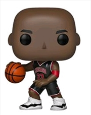 NBA: Bulls - Michael Jordan (Black Uniform) US Exclusive Pop! Vinyl [RS] | Pop Vinyl