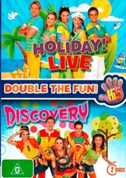 Hi 5 - Discovery / Holiday Live - Double Pack | DVD