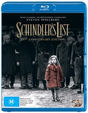 Schindler's List - 25th Anniversary Edition Bonus Disc | Blu-ray