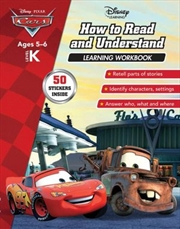 Disney Cars: How to Read and Understand Learning Workbook Level K | Paperback Book