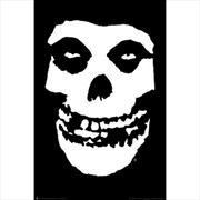 Misfits Skull poster