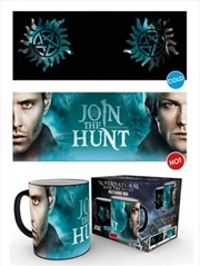 Supernatural Sam and Dean Symbol HEAT CHANGING Mug   Merchandise