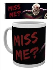 A Nightmare on Elm Street Miss Me Mug | Merchandise