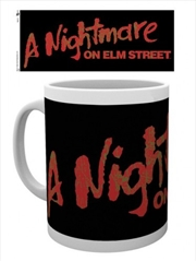 A Nightmare on Elm Street Logo Mug | Merchandise