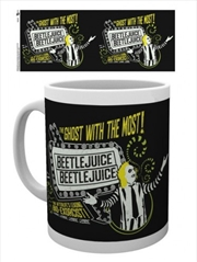 Beetlejuice The Ghost With The Most Mug | Merchandise