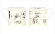 Fantastic Beasts - Niffler Vintage Mug