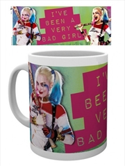 DC Comics Suicide Squad Harley Quinn Bad Girl Mug
