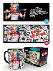 DC Comics Suicide Squad Daddy's Lil Monster HEAT CHANGING Mug