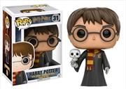 Harry Potter - Harry with Hedwig US Exclusive Pop! Vinyl