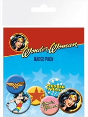 DC Comics Wonder Woman Mix Badge Pack