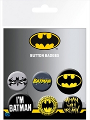 DC Comics Batman Comics Mix Badge Pack