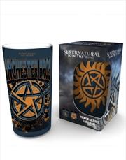 Supernatural Anti Possession Coloured Large Glass | Merchandise