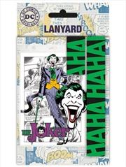 DC Comics Joker Lanyard | Merchandise