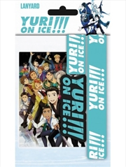 Yuri On Ice Logo Lanyard | Merchandise