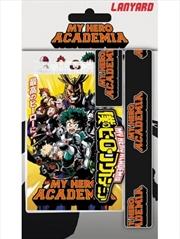 My Hero Academia Logo Lanyard