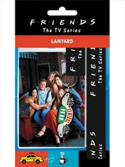 Friends Central Perk Lanyard