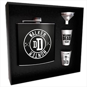 Walking Dead Walker Hunter Hipflask Set | Merchandise