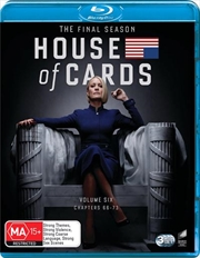 House Of Cards - Season 6 | Blu-ray