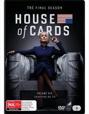 House Of Cards - Season 6 | DVD