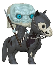 Game of Thrones - White Walker on Horse Pop! Ride | Pop Vinyl