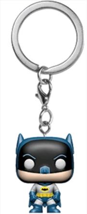 Batman - Batman 80th Anniversary US Exclusive Pocket Pop! Keychain [RS]