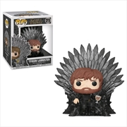 Game of Thrones - Tyrion on Iron Throne Pop! Deluxe | Pop Vinyl