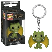 Game of Thrones - Rhaegal Pocket Pop! Keychain | Pop Vinyl