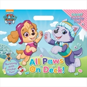 Paw Patrol All Paws on Deck Giant Activity Pad