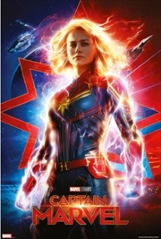 Captain Marvel Teaser Poster | Merchandise