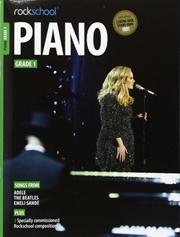 Rockschool Piano Grade 1   Paperback Book