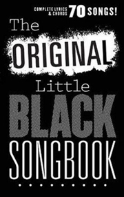 Original Little Black Songbook | Paperback Book