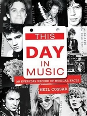 This Day in Music | Paperback Book