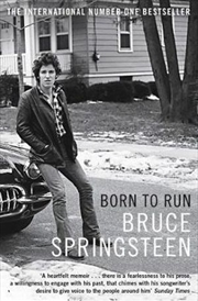 Born To Run | Paperback Book