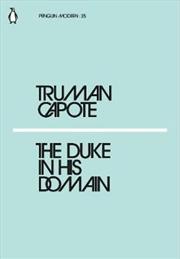 The Duke in His Domain | Paperback Book