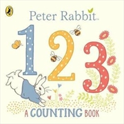 Peter Rabbit 123 A Counting Book A Counting Book | Hardback Book
