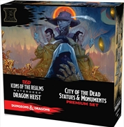 Dungeons & Dragons - Icons of the Realms Set 9 City of the Dead Case Incentive