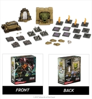 Dungeons & Dragons - Icons of the Realms Set 7 Tomb of Annihilation Tomb & Traps Case Incentive