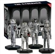 Doctor Who - Cybermen 1:21 Scale Figure Set #2
