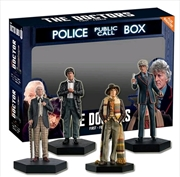 Doctor Who - Doctors One, Two, Three and Four Regeneration 1:21 Scale Figure Set