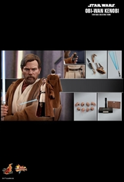 "Star Wars - Obi-Wan Kenobi Episode III Revenge of the Sith 12"" 1: 6 Scale Action Figure"