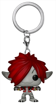 Kingdom Hearts 3 - Sora Monst Inc US Exclusive Pocket Pop! Keychain [RS] | Pop Vinyl