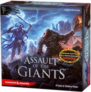 Dungeons & Dragons - Assault of the Giants Premium Board Game | Games