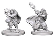 Dungeons & Dragons - Nolzur's Marvelous Unpainted Minis: Dwarf Female Wizard | Games