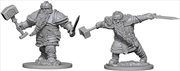 Dungeons & Dragons - Nolzur's Marvelous Unpainted Minis: Dwarf Male Fighter | Games