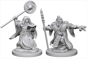 Dungeons & Dragons - Nolzur's Marvelous Unpainted Minis: Dwarf Male Wizard | Games