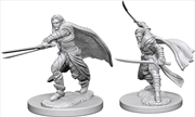Dungeons & Dragons - Nolzur's Marvelous Unpainted Minis: Elf Male Ranger | Games