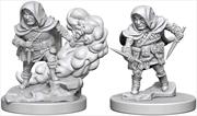 Dungeons & Dragons - Nolzur's Marvelous Unpainted Minis: Halfling Male Rogue | Games
