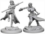 Dungeons & Dragons - Nolzur's Marvelous Unpainted Minis: Human Female Monk   Games