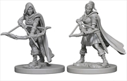 Dungeons & Dragons - Nolzur's Marvelous Unpainted Minis: Human Female Ranger | Games